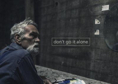 Don't Go It Alone open2